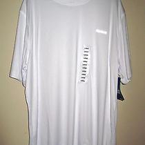 Men's Reebok Athletic Workout Shirt Short Sleeved White Nwt Size Large Photo