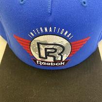 Mens Reebok Classic Snapback Hat (Blue / Red / White / Black) Photo