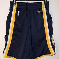 Men's Reebok Nba Pacer's Game Shorts Size Medium  Photo