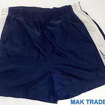 Men's Reebok Satin Soccer Shorts Sz Large Photo