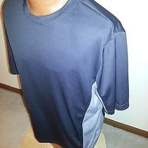 Men's Reebok T Shirt Black/gray Xl Play Dry Fit Activewear Running Yoga Photo