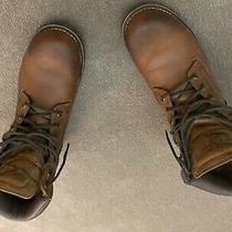 Men's Rugged 6-Inch Waterproof Boots Timberland Boots Size 9 Photo