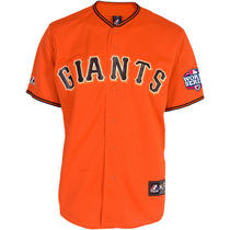 Men's San Francisco Giants Replica Buster Posey World Series Alternate or Medium Photo