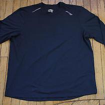 Men's Saucony Primo Long Sleeve T-Shirt Black Xxl Running Athletic Primolite Photo
