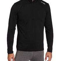 Men's Saucony Pullover Lightweight Primo 1/4 Zip Shirt Xxl Black 80679 Running Photo