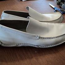 Men's Shoes White Leather Steve Madden Unnion Style Size 10.5 (Cm-40) Photo