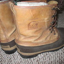 Men's Size 10 Sorel Boots  Inserts Rain Winter All Weather Snow Insulated Tall Photo