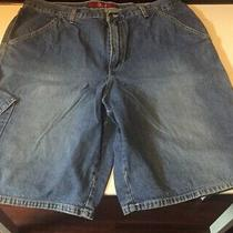 Mens Size 38 Guess Jeans Blue Shorts Photo