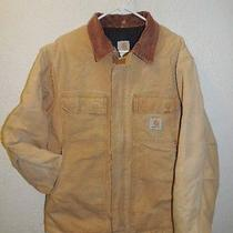 Men's Size 42  Large Carhartt Barn Chore  Lined Insulated  Jacket Photo
