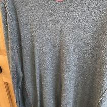 Mens Size M Gray Cotton/cashmere Gap Sweater Photo