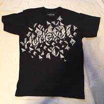 Men's Small Black Hurley Graphic Tee Shirt Photo