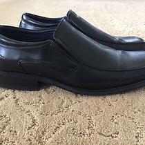 Men's Solid Black Aldo Loafers Size 11 Photo