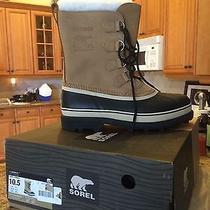 Men's Sorel Snow Boots/waterproof Size 10.5 Photo