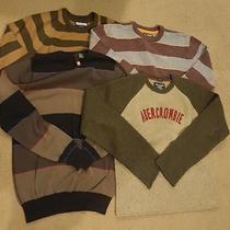 Men's Sweater Clothing Lot Size L Billabong Element Abercrombie Photo