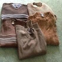 Men's Sweaters Sz M Kenneth Cole Gap American Eagle David Taylor Dockers Photo