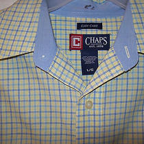 Men's Sz L Nice Dress Shirts Lot Button Up Summer Chaps String Theory Canyon Gui Photo