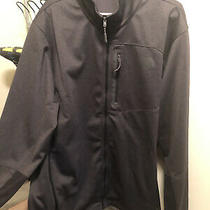 Men's the North Face Canyonlands Full-Zip Grey Heather Size Xxl Pre Owned Poly Photo