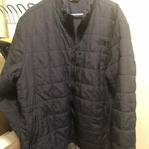 Men's the North Face Harway Jacket Dark Navy Size Xxl Pre Owned Quilted Photo