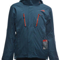 Men's the North Face Jeppeson Jacket Ski Snow Softshell Diesel Blue Photo