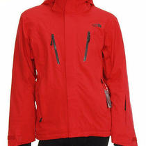 Men's the North Face Jeppeson Jacket Ski Snow Softshell Red Photo
