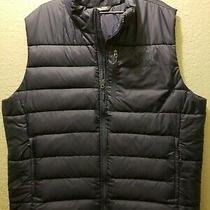 Men's the North Face Xxl Puffer Vest 550 Goose Down Blue Polyester Photo