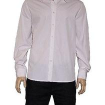 Men's Theory Kale Wp Restore Button Down Shirt in Lavender Stripe Photo