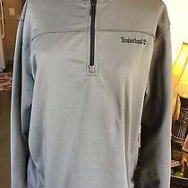 Men's Timberland Heavy Gray Pullover Xl Solid Photo