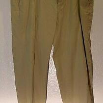 Men's Tommy Bahama Relax Khaki Pants Flat Front 100% Cotton Size 40 Photo