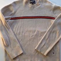 Men's Tommy Hilfiger Vneck Sweater Size Large Photo