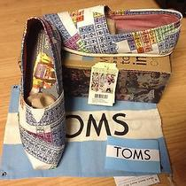 Men's Toms Classics Periodic Table New Sz 11.5   11 1/2 Photo