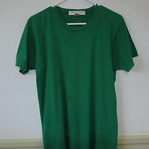 Men's Trina Turk Green 100% Cotton T-Shirt Size M Photo