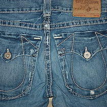 Men's True Relgion Jeans Sz 32x34 Section Billy Big T Seat 34 Awesome Jeans Photo
