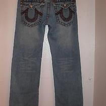 Men's True Religion Billy Super  T  Flap Pockets  Row-32 Seat-33 Photo