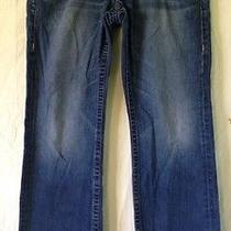 Men's True Religion Brand Jeans Section Bobby Seat 34 Relaxed Medium Wash Denim Photo