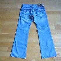 Men's True Religion Jeans - Billy 33/34 Rn112790 - Gently Worn  Photo