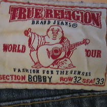 Men's  True Religion Jeans Bobby Row 32 Seat 33 Photo