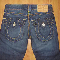 Men's True Religion Jeans Section Joey Big T Seat 34 Size 30  Photo