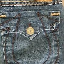 Men's True Religion Jeans Size 38 Blue Photo