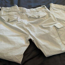 Men's True Religion White Cargo Pants Jeans Size 38 Photo