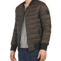Men's Ugg Size Medium Olive Gavin Bomber Jacket Nwt Retail 275 Photo