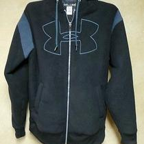 Men's Under Armour Black Storm Water Resistant Fleece Jacket M Photo
