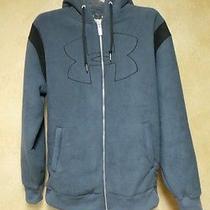 Men's Under Armour Blue Storm Water Resistant Fleece Jacket L Photo