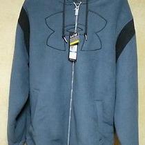 Men's Under Armour Blue Storm Water Resistant Fleece Jacket Xl Photo