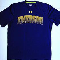 Men's Under Armour Emerson College T Shirt Size Medium M Photo
