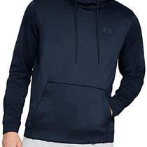 Men's Under Armour Fleece Pullover Hoodie Academy Blue Size Xl Photo
