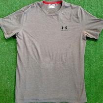 Men's Under Armour  Heat Gear Shirt  Gray Photo