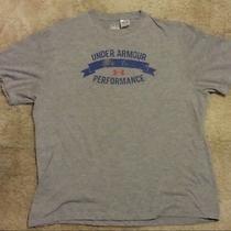 Men's Under Armour Heat Gear Shirt Size Large Photo