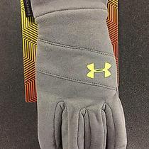 Men's Under Armour Storm Coldgear Infrared Elements Glove Xl Gray      1282767 Photo