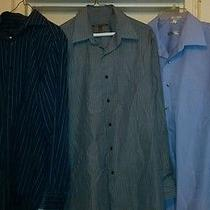 Men's Very Nice Dress Shirts Dkny Etc Sizes Large 16 32/33 Etc Photo