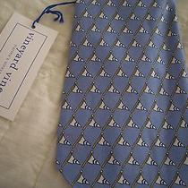 Men's Vineyard Vines Custom Collection Neck Tie Nwt Rare Silk Noroton Yacht Lt B Photo
